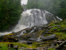 Waterfall in Great Bear Rainforest