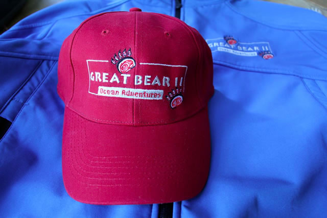 Great Bear II Red Ball Cap
